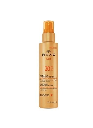 Nuxe NUXE Sun Spray Lacté SPF 20 150 ml Renksiz